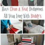 Have Clean & Neat Bedrooms All Year Long With Beddy's