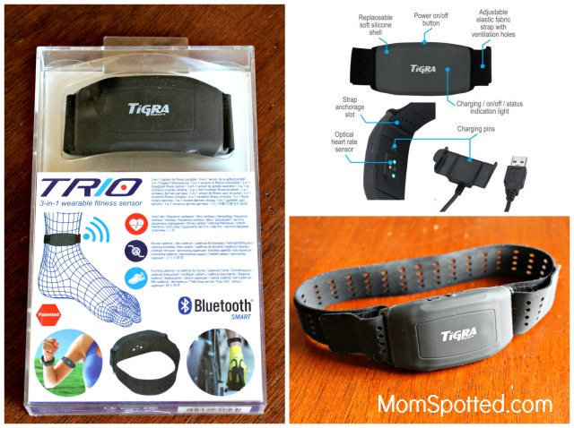 TRIO 3-in-1 Fitness Sensor Is a Great Gift For Runners & Cyclists