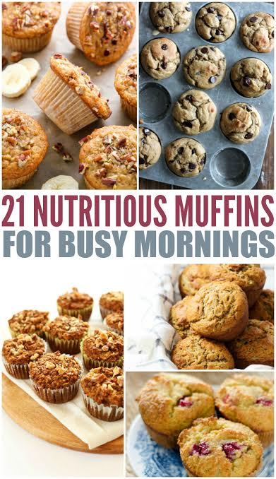 21 Nutritious Muffins For Busy Mornings - Mom Spotted