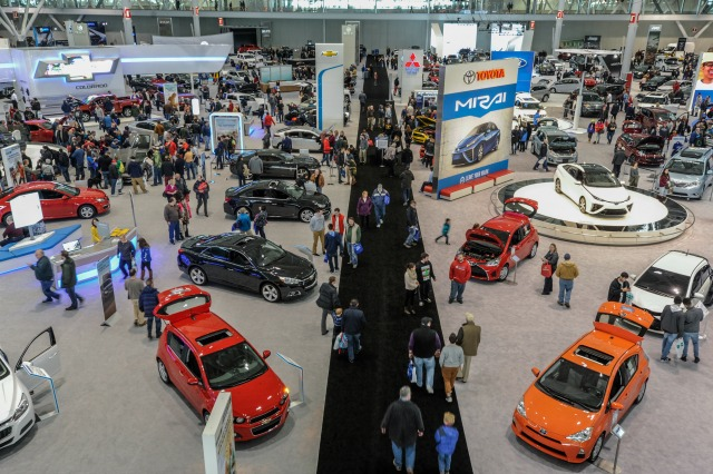 Attend The New England Auto Show In Boston - Auto car show convention center