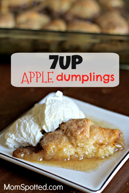 Mix It Up With 7UP® Apple Dumplings