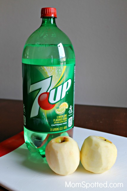 mix it up with 7up raspberry lime floats apple dumplings