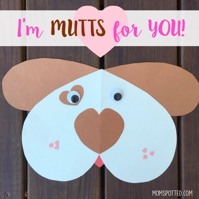 Dog Valentine Craft Preschool