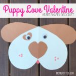 Puppy Love Valentine for Kids – Heart Shaped Dog Craft