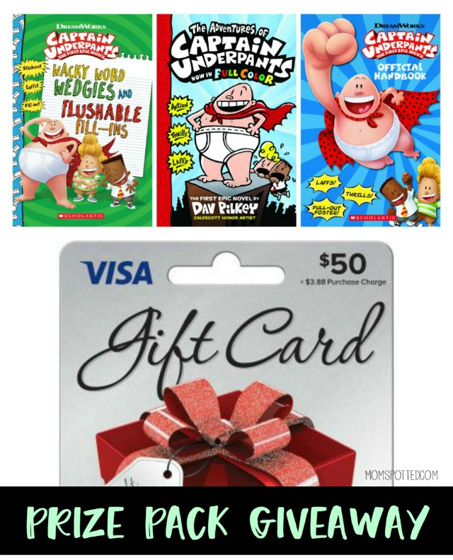 Captain Underpants: The First Epic Movie Prize Pack Giveaway - Mom Spotted