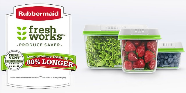 Vegetable Saver Containers Keep produce fresher with rubbermaid freshworks produce saver keep produce fresher longer freshworks is a food storage container workwithnaturefo