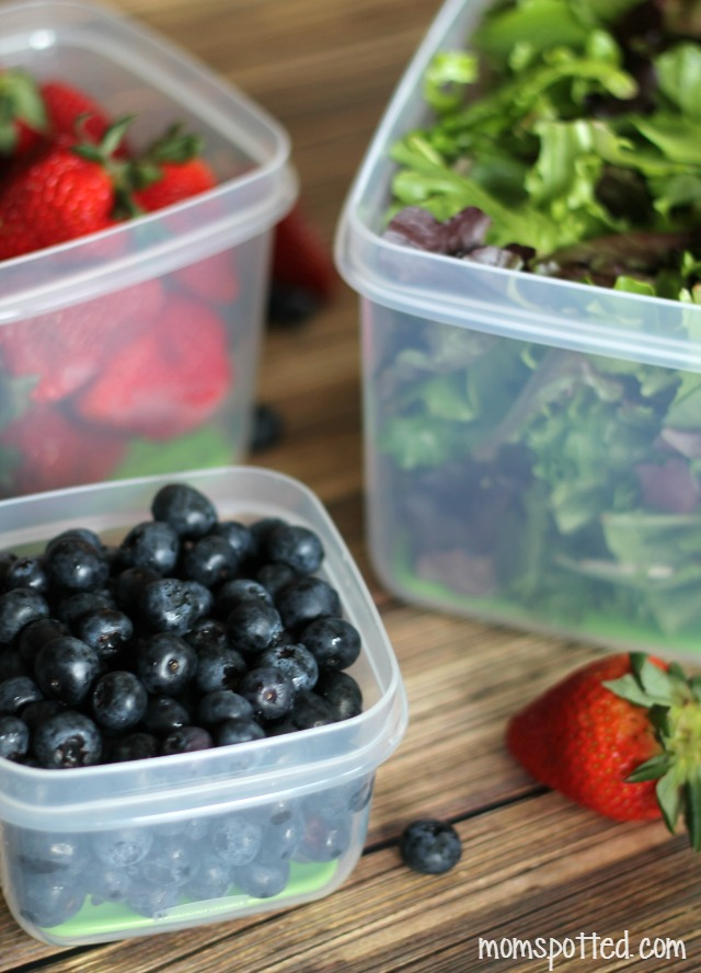 Keep Produce Fresher, Longer with Rubbermaid FreshWorks Produce Saver