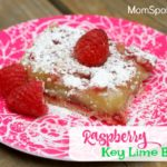 Celebrate Memorial Day With Krusteaz {Raspberry Key Lime Bars Recipe}