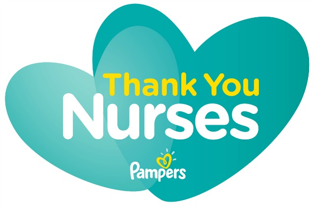 Pampers Swaddlers Thank You Nurses Award Winners