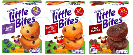 recipe: little bites strawberry yogurt muffins [25]