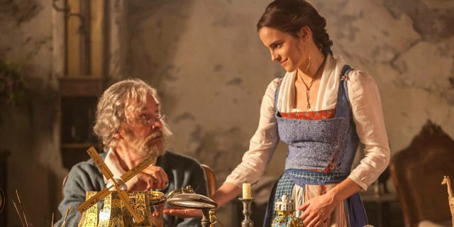 Beauty & the Beast Movie Belle and her father