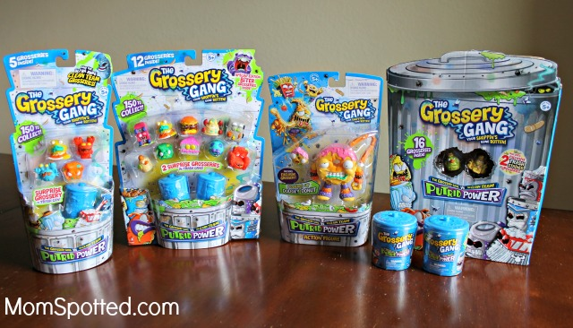 The New Grossery Gang Putrid Power Movie With Grossery Gang Toys