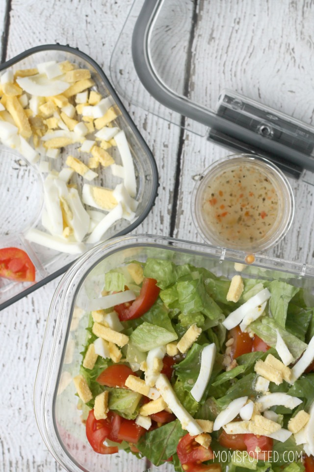 Rubbermaid BRILLIANCE Snack & Salad Set