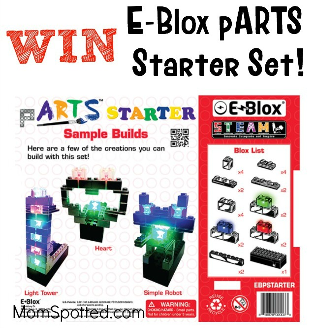 Encourage Your Child's Love Of STEM With E-Blox® {plus