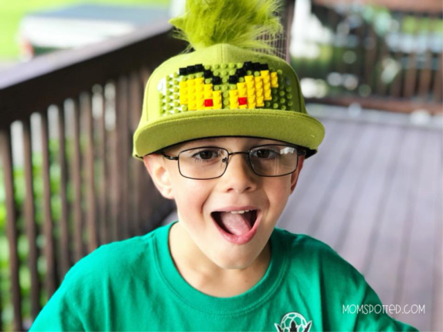 Sawyer Dr. Seuss The Grinch Bricky Blocks Build-On Snapback Hat Kit