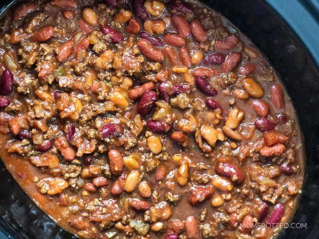 Three-Hour Slow Cooker Chili Recipe