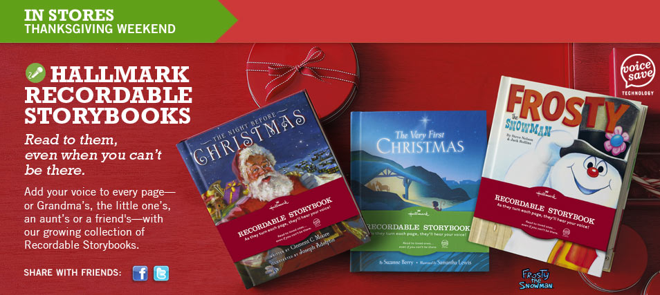 Recordable Christmas Books.Hallmark Recordable Storybooks Review Giveaway Make Books