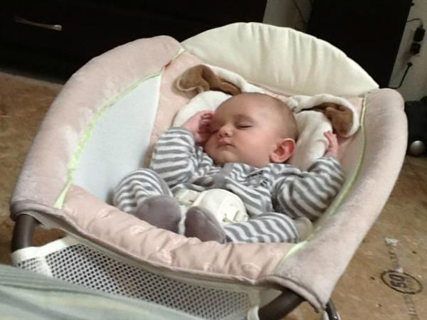 fisher price rocker sleeper baby