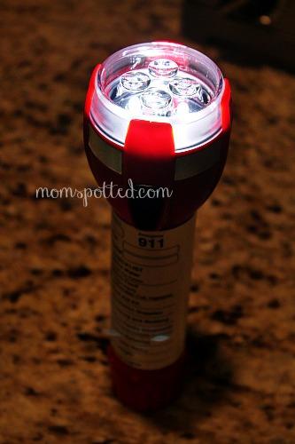 Energizer® LED Safety Light Flashlight
