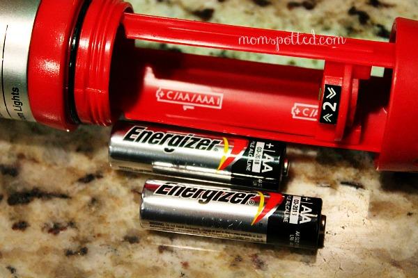 Energizer® LED Safety Light Flashlight batteries