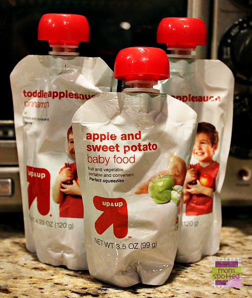 Target Up & Up Baby & Toddler Food Pouches