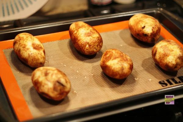 Bacon Loaded Twice Baked Potato Skins 1