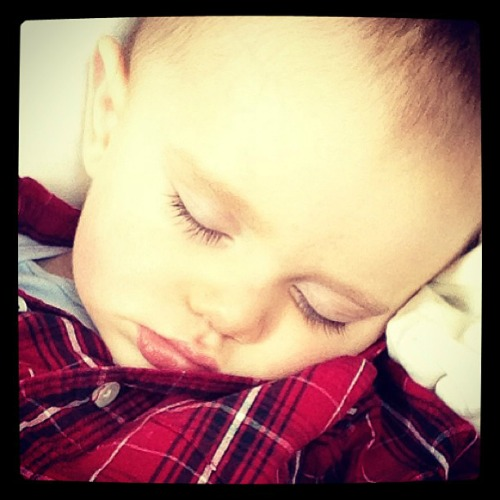 Sleeping Sawyer 2.3 #momspotted