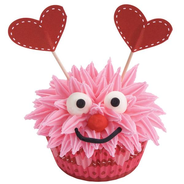 Love Monsters Cupcakes Valentine's Day Wilton