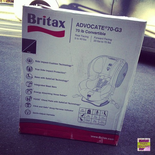 Britax Advocate 70-G3 #momspotted 7