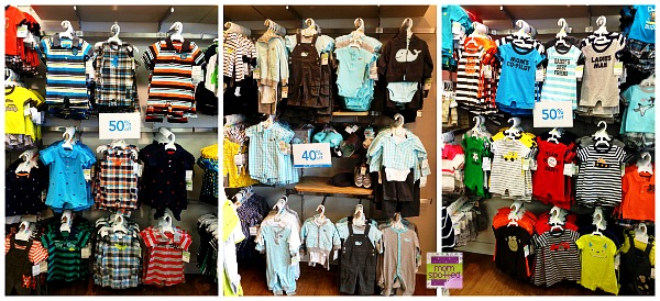 Carters Store Boys selection 0-24 months baby spring summer 2013