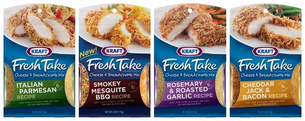 #KraftFreshTake varieties