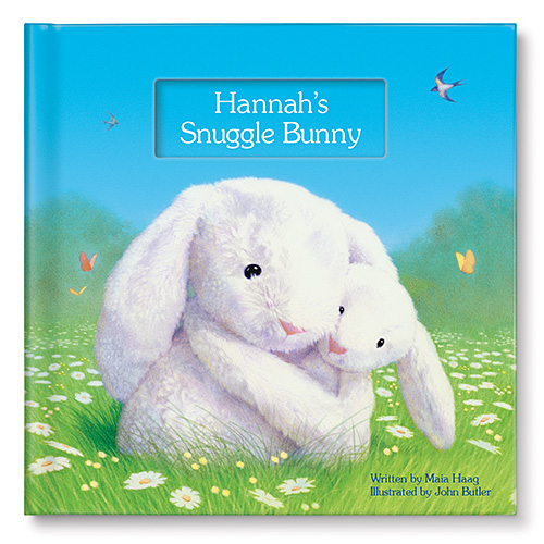 I See Me! Snuggle Bunny Personalized Book
