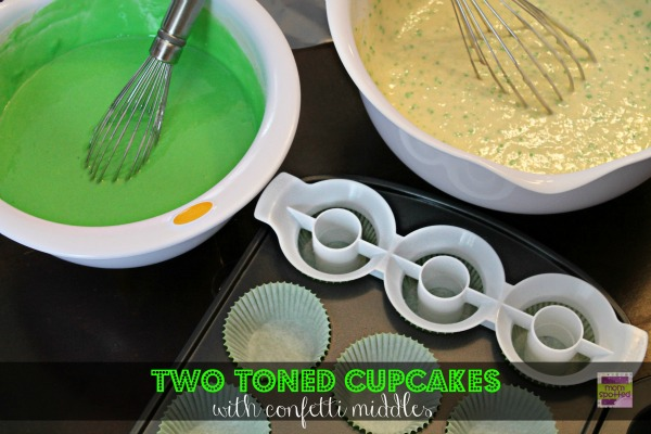 Two Toned Cupcakes