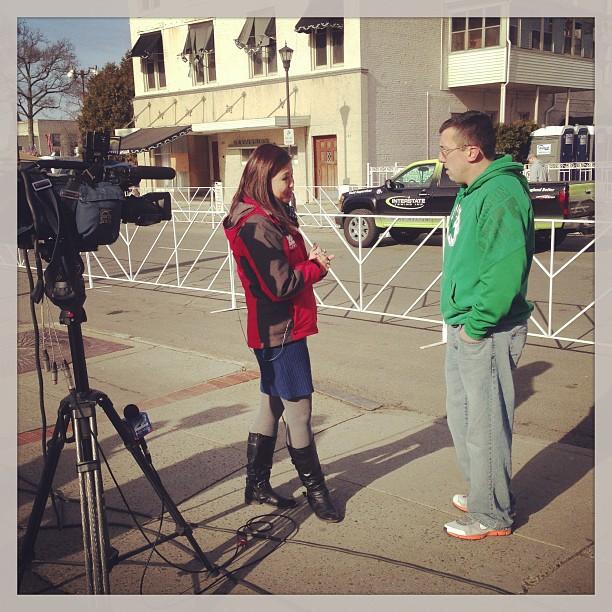 Holyoke, Massachusetts St. Patrick's Day Road Race #momspotted Mengel-DaFonte Auto Body
