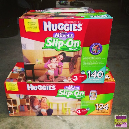 New HUGGIES Little Mover Slip-On Diapers #FirstFit
