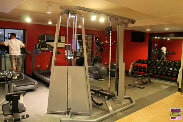 Hilton Mystic Hotel Fitness Room