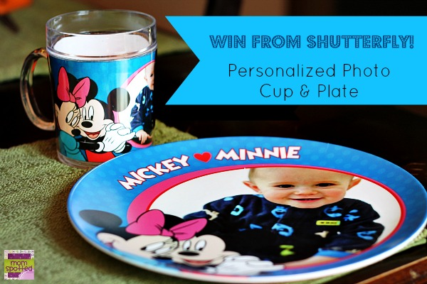 Shutterfly Personalized Photo Plate & Cup