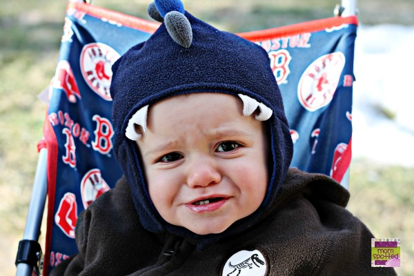 Official MLB Umbrella Stroller Boston Red Sox #momspotted 1