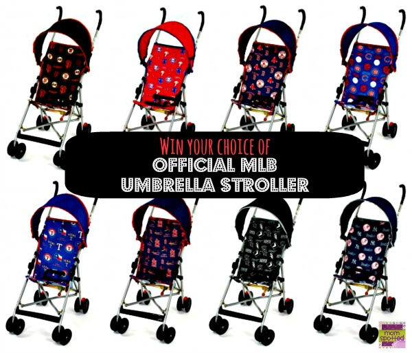 Win a Official MLB Umbrella Stroller