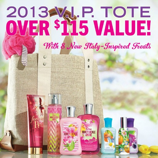 Bath & Body Works Mother's Day VIP Tote