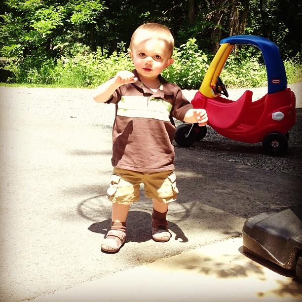 Sawyer walking