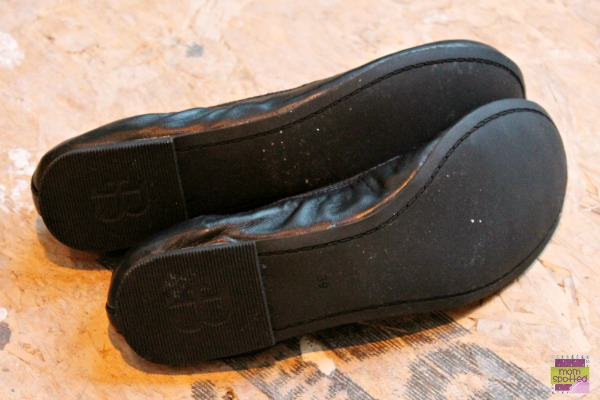 Brian James Shoes Angie black ballet flat a