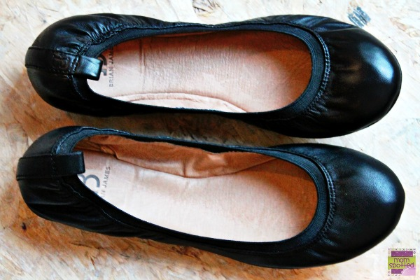 Brian James Shoes Angie black ballet flat