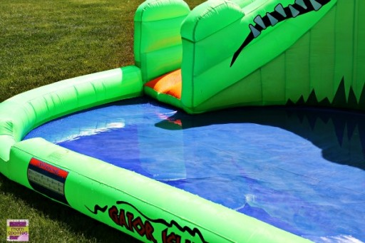 BounceHousesNow Gator Island Water Slide by Blast Zone #Review