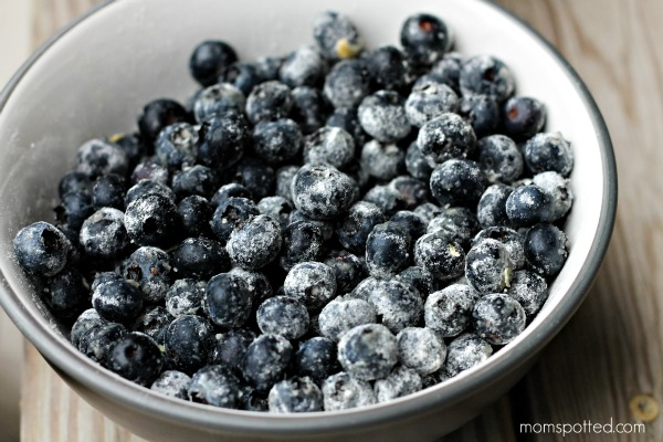 Baking Tip for Fruit - Add a little of your dry mix to your fruit to keep them from sinking ot the bottom during the baking process.