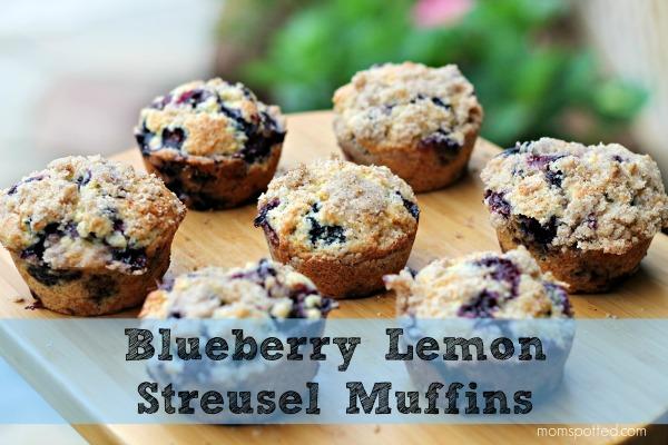 Blueberry Lemon Streusel Muffins a