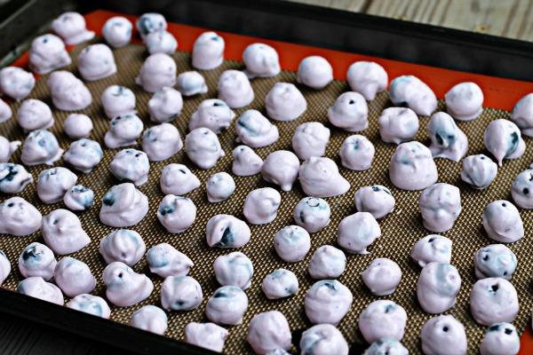 Frozen Blueberry Bites Greek Yogurt