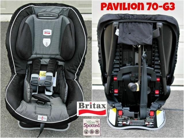 #Britax Pavilion 70-G3 Car Seat Front & Back