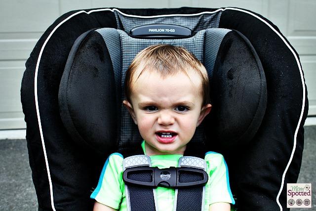 #Britax Pavilion 70-G3 Car Seat Headrest & Shoulder straps with toddler