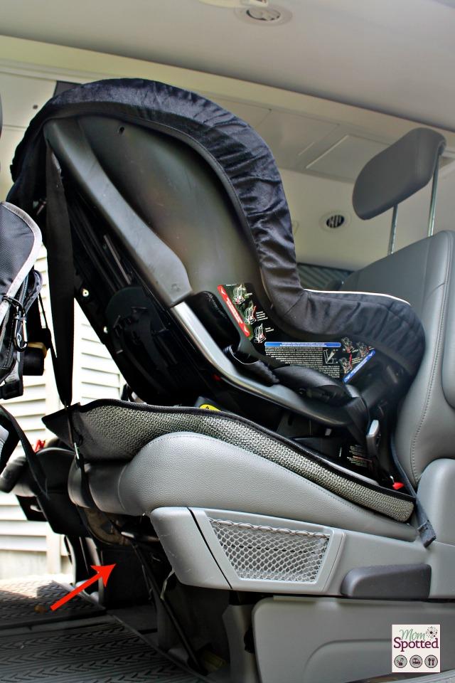 #Britax Pavilion 70-G3 Car Seat energy-absorbing Versa-Tether Rearfacing